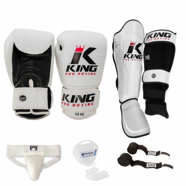 King Pro Kickboxing Set Wit