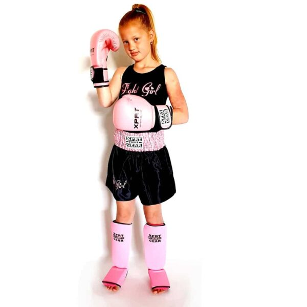 Fight Girl Kickboks Set roze (4-12 jaar)