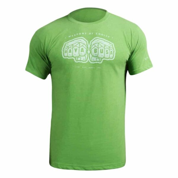 Hayabusa Weapons of Choice T-Shirt - Groen