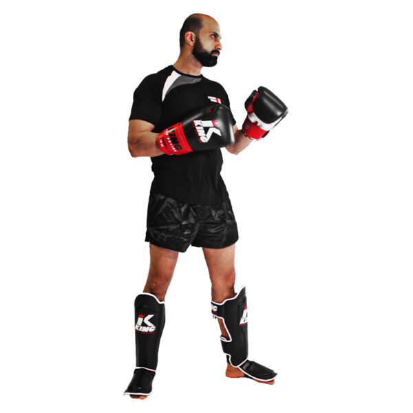 King Pro Kickbox Set Zwart-Rood