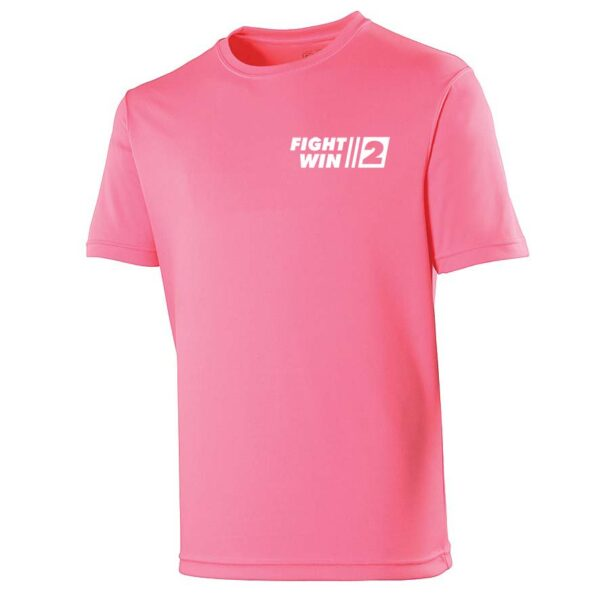 Neoteric ™ sportshirt Fight2Win Electric Pink