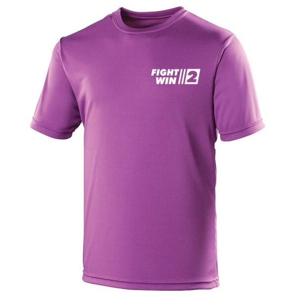 Neoteric ™ sportshirt Fight2Win Paars